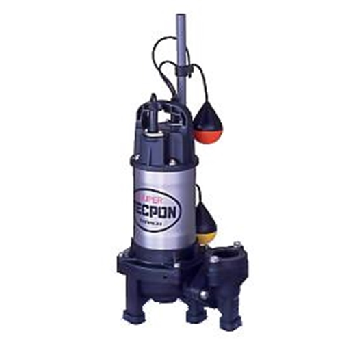 テラダポンプ 自動汚物用水中ポンプ 口径40mm 全揚程2.0m時 吐出量170L/分 PXA-250T 50Hz 電源三相200V