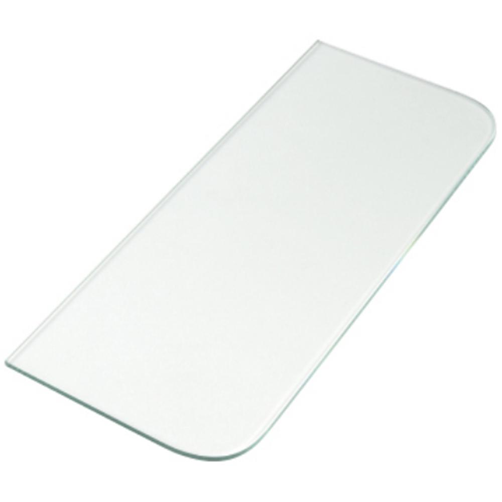 マツロク(マツ六) インテリアブラケット 棚ガラス KG−3515C