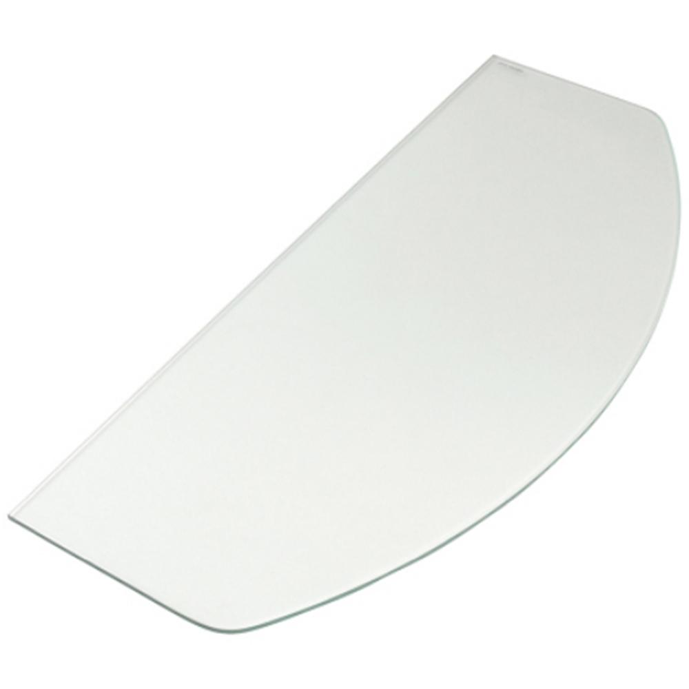 マツロク(マツ六) インテリアブラケット 棚ガラス KG−582515C