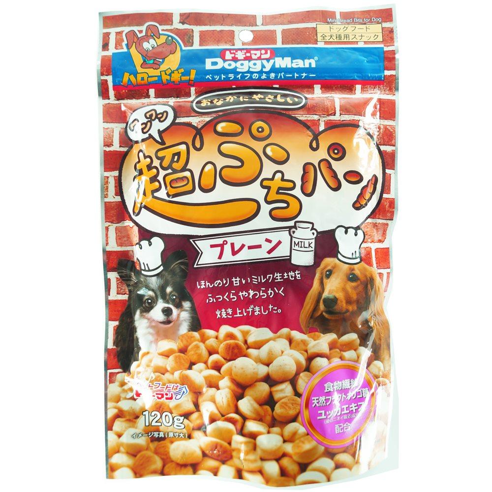 おなかにやさしいワンワン超ぷちパン 120g 【犬のおやつ】【パン】