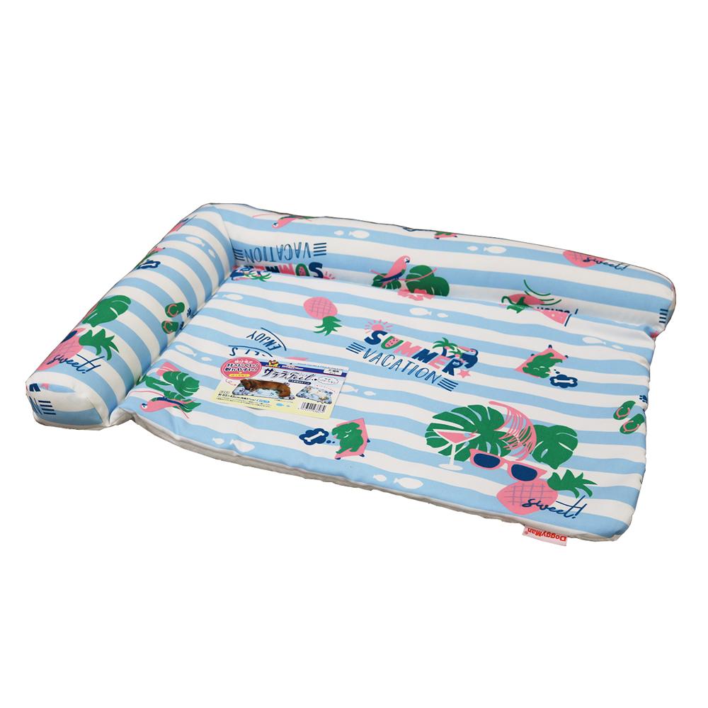 サララfeel L字型枕付きマット サマーバケーション 犬猫用マット 夏用
