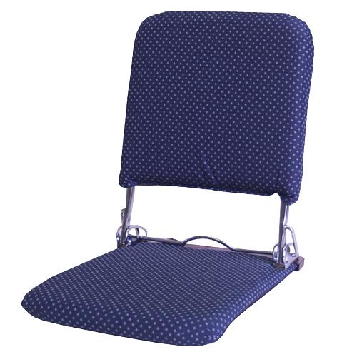 お座敷和座椅子 P−飛騨 ネイビー