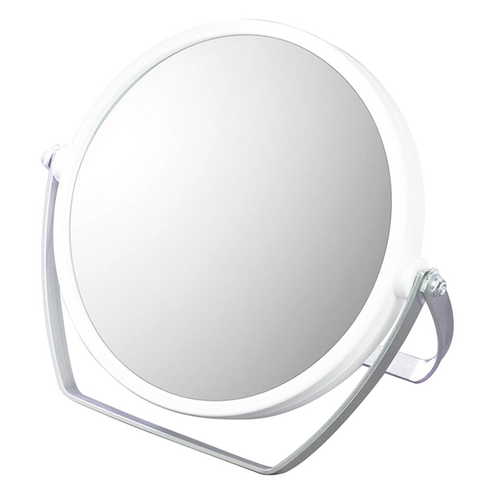 10倍拡大鏡付き両面スタンドミラー