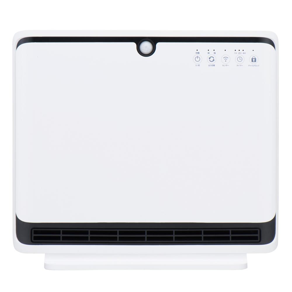コーナン オリジナル PortTech 人感パネルヒーター PKT−PS1200AR 1 ホワイト 約幅480×奥行182×高さ424mm