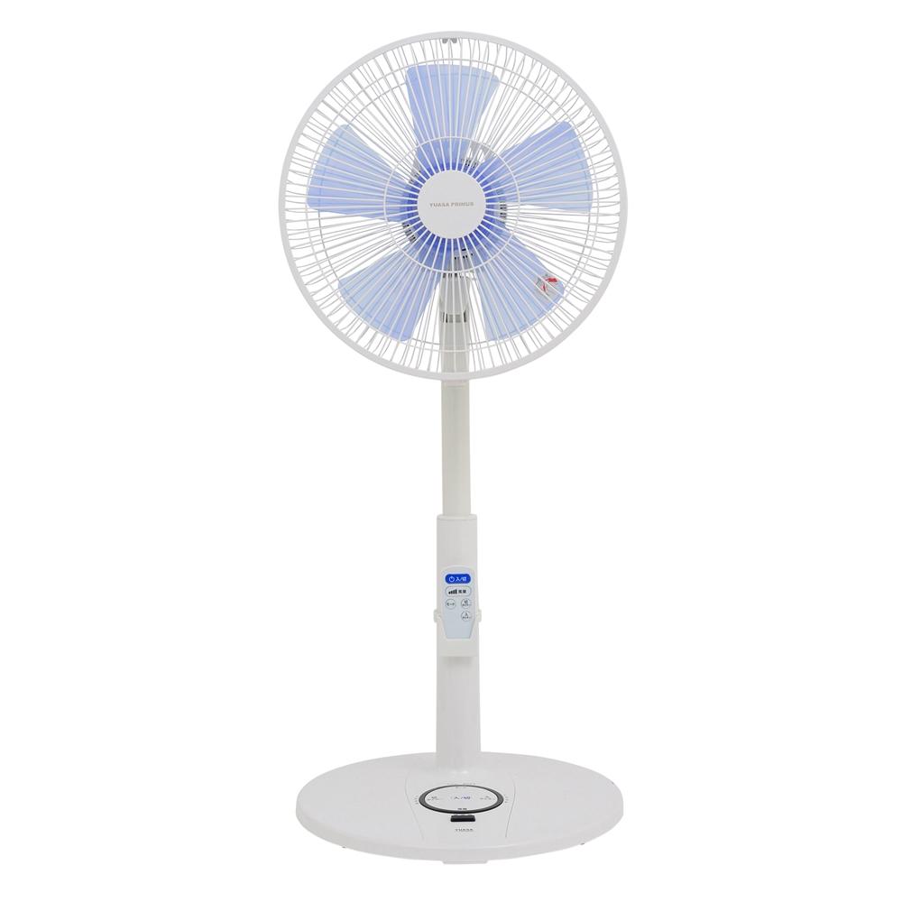 ユアサ ハイアングルリビング扇風機 YT−3363AR(W)