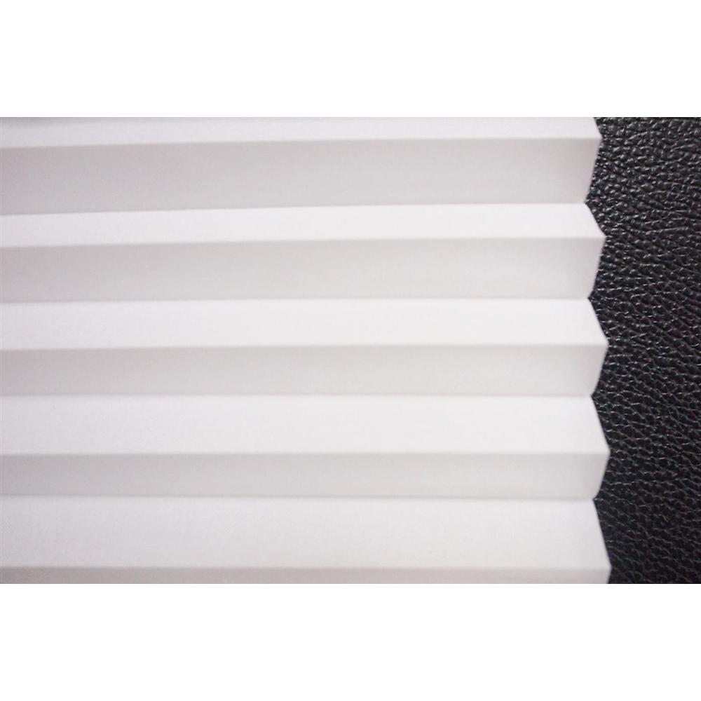 小窓用幅35×丈90cm 突っ張り棒付き ハニカムシェード  ホワイト