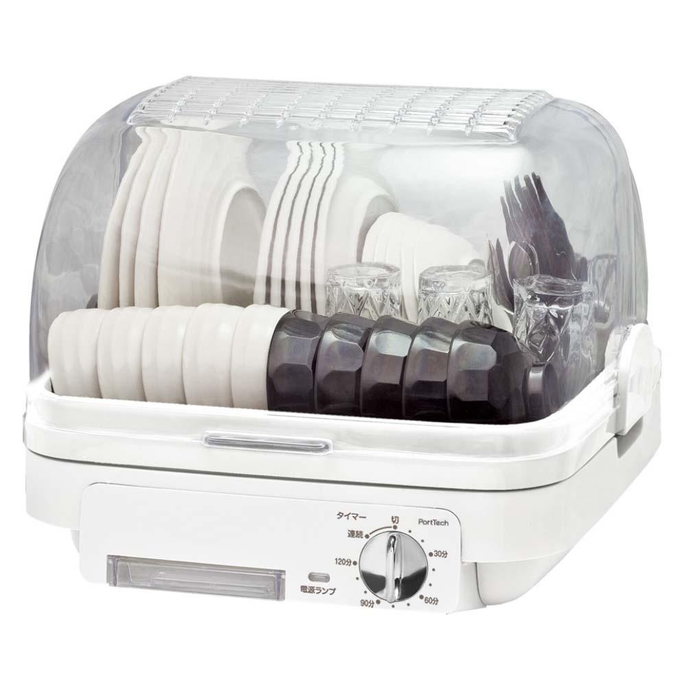コーナン オリジナル PortTech 食器乾燥機 PDA−500(W)