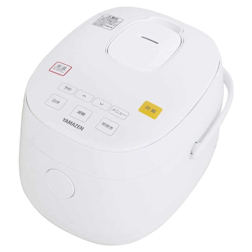 山善(YAMAZEN)  糖質を減らせる炊飯器 YJF−M30CC(W)