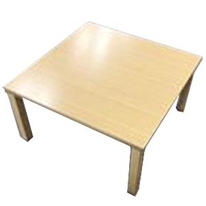 コーナン オリジナル PortTech テーブルこたつ PTG−75(NB) 1 ナチュラル 幅750×奥行750×高さ380mm