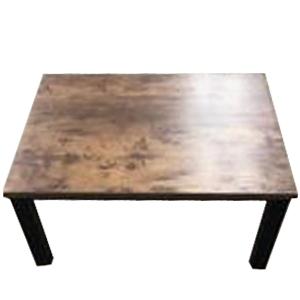 コーナン オリジナル PortTech テーブルこたつ PTG−8060(ABR) 1 アンティークブラウン 幅800×奥行600×高さ380mm