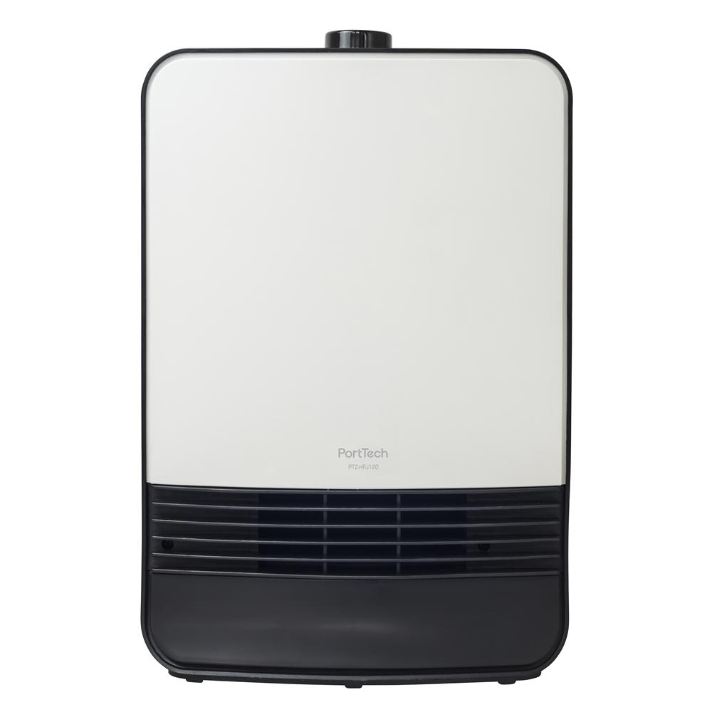 コーナン オリジナル PortTech セラミックヒーター PTZ−HFJ120(W) 1 ホワイト 幅251×奥行123×高さ376mm
