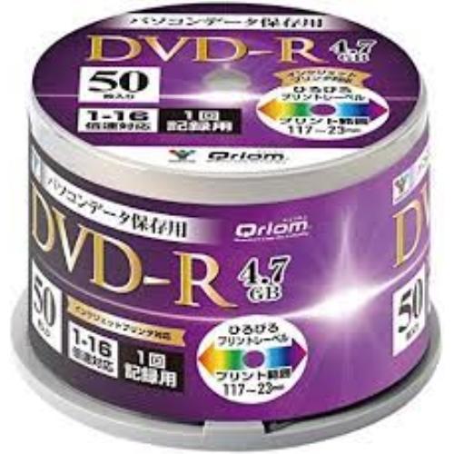 QRIOM DVD−R 50枚入