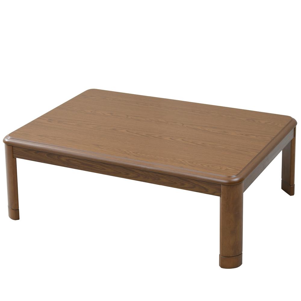 山善(YAMAZEN) 家具調こたつ 120cm GKR−F120H 1 ブラウン 幅1200×奥行800×高さ410mm