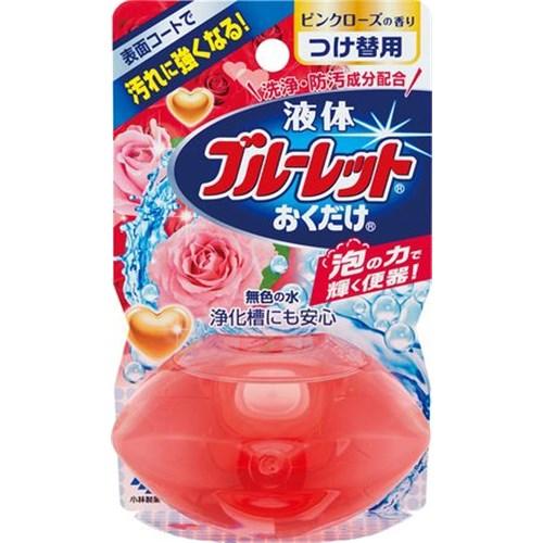 液体ブルーレットおくだけ ピンクローズの香り つけかえ用 70ml