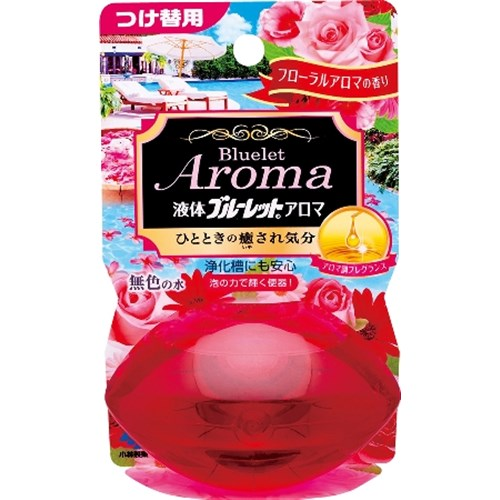 液体ブルーレットおくだけアロマ つけかえフローラルアロマの香り 70ml