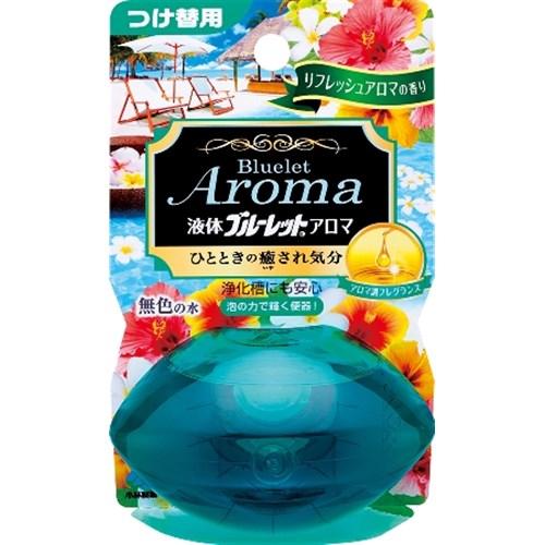 液体ブルーレットおくだけアロマ リフレッシュアロマの香り つけ替用 70ml