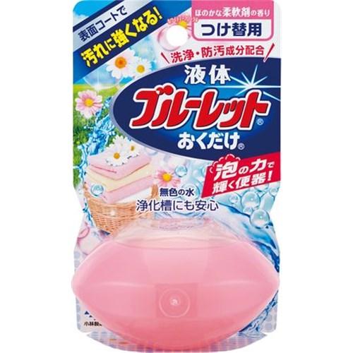 液体ブルーレットおくだけ ほのかな柔軟剤の香り つけかえ用 70ml
