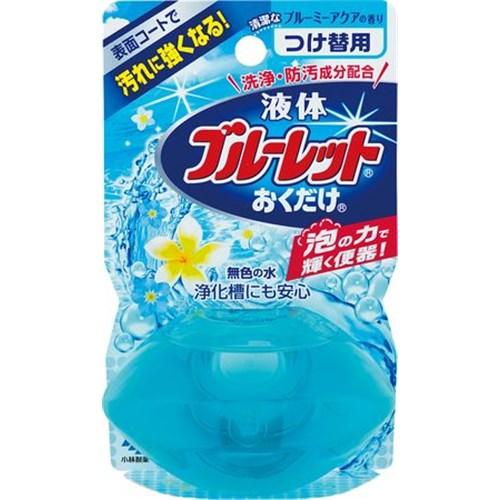 液体ブルーレットおくだけ 清潔なブルーミーアクア つけかえ用 70ml