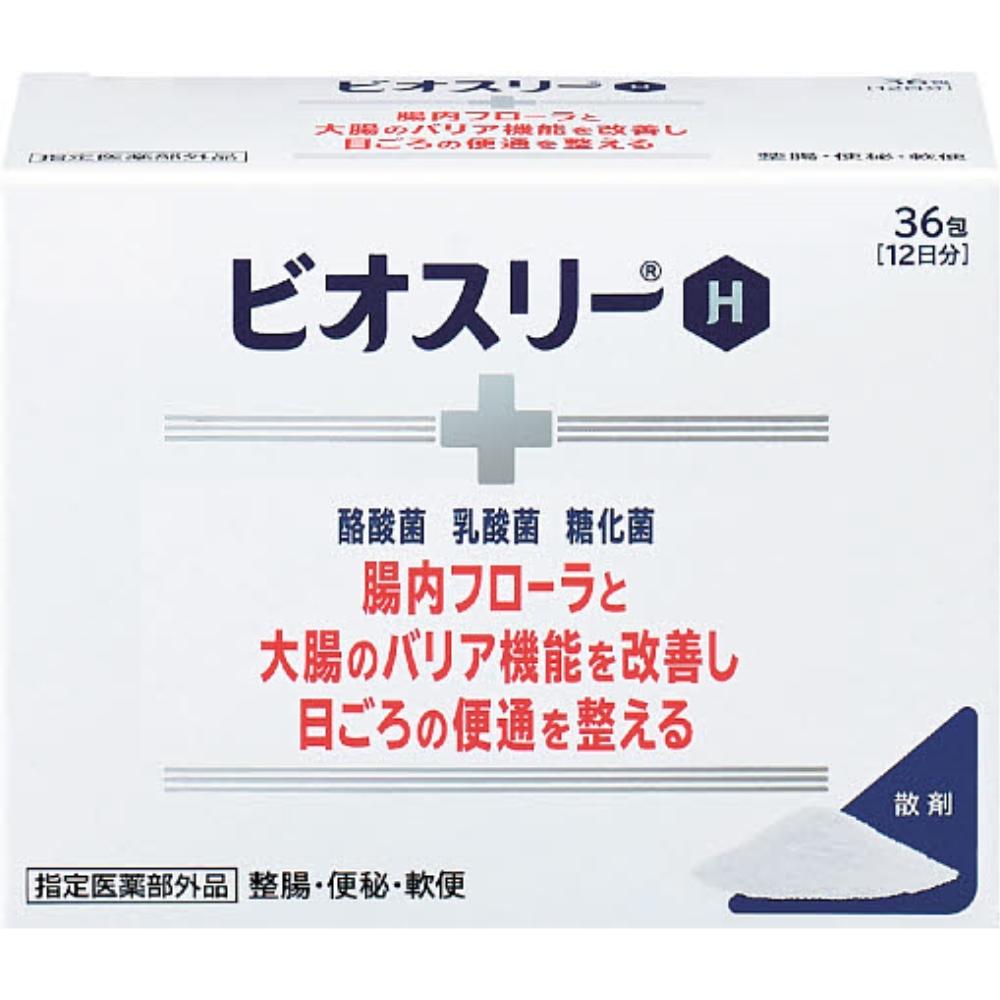 アリナミン製薬 ビオスリーH 36包