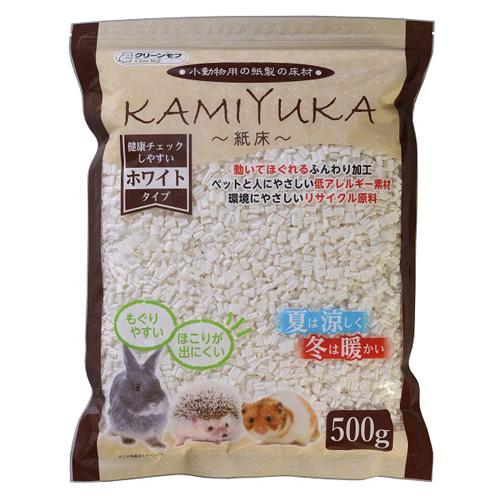 シーズイシハラ 小動物用マット 紙床 ホワイト500g