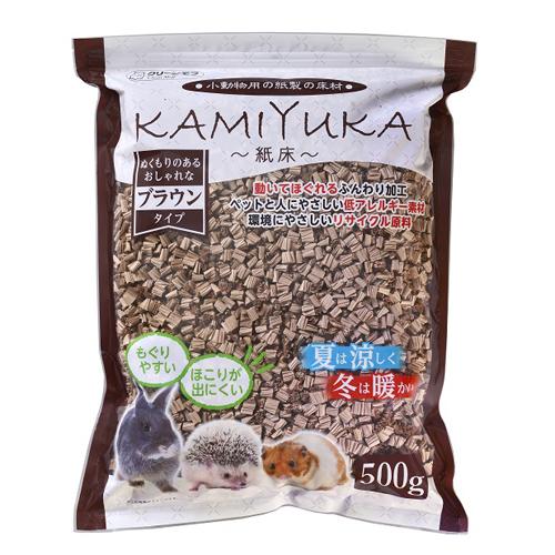 シーズイシハラ 小動物用マット 紙床 ブラウン500g