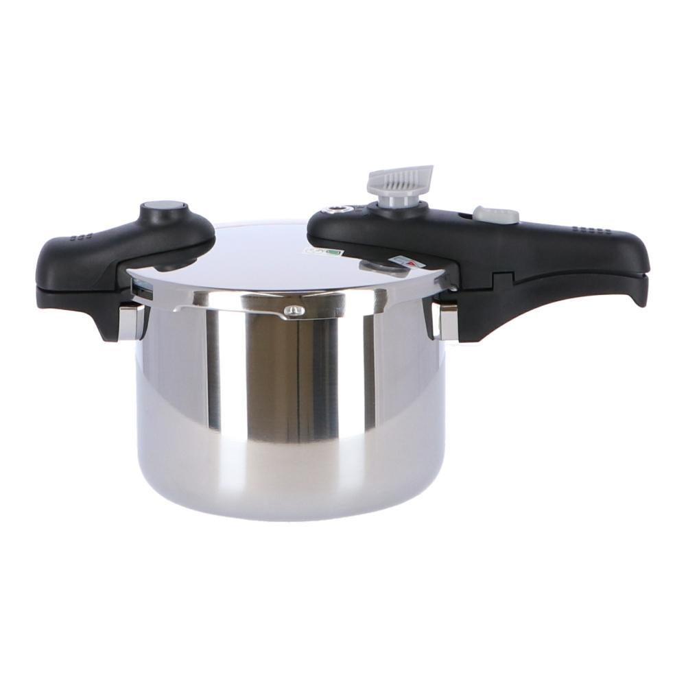 コーナン オリジナル ステンレス片手圧力鍋 4.5L YH−45KN