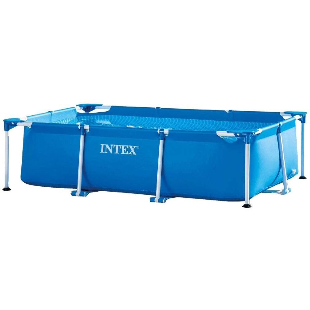 INTEX レクタングラ フレーム プール 約260×160×65cm (外寸 約 幅208×長さ310cm) 日本正規品