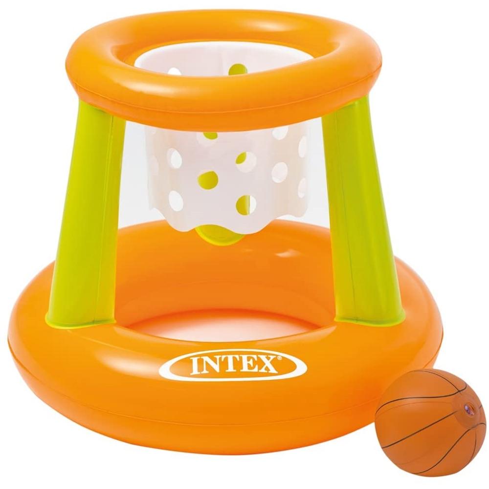 INTEX フローティングフープ プレイバスケット 約67X55cm  58504NP