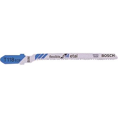 ボッシュ ジグソーブレード 金工用バイメタル 5本入り T118EOF