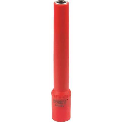 Tech−EV 絶縁工具 ロングディープソケット 3/8 10mm(6角) OLCB3LL10A