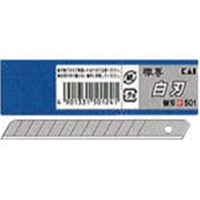 貝印 小型カッター替え刃白刃 S-50