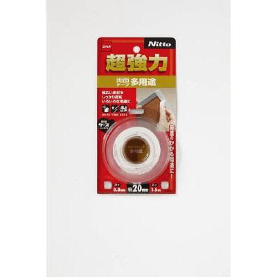 ニトムズ 超強力両面テープ多用途 20×1.5 T4541