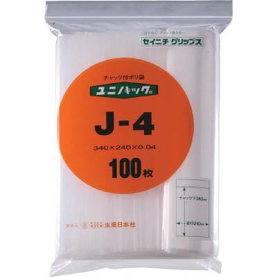 セイニチ 「ユニパック」 J−4 340×240×0.04 100枚入 J-4