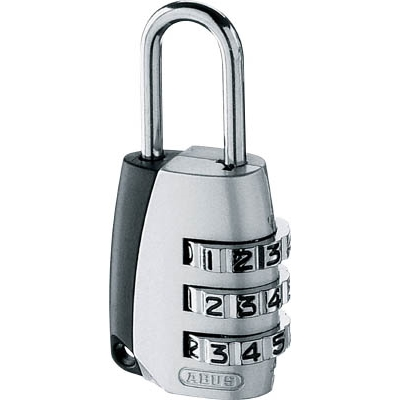 ABUS ナンバー可変式南京錠 155−20 155-20