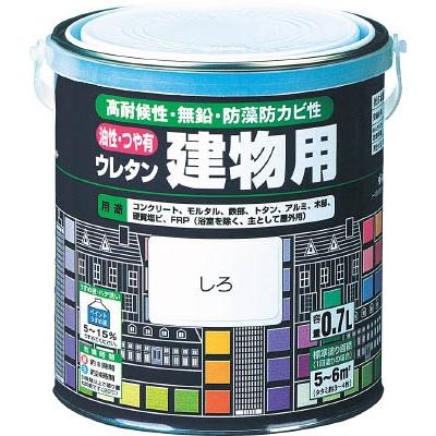 ロック 油性ウレタン建物用 あか 1.6L H0616136S