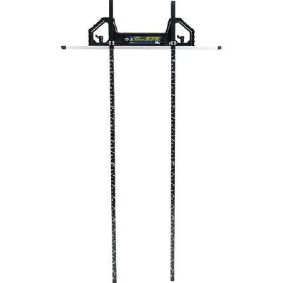 シンワ 丸ノコガイド定規Tスライドダブル 60cm(併用目盛・突き当て可動式) 73704