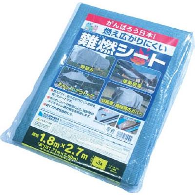 萩原 難燃シートグレー 1.8m×2.7m NNS1827