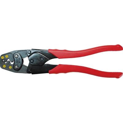 エビ 裸圧着端子用圧着工具 使用範囲2・5.5・8・14 AK19A
