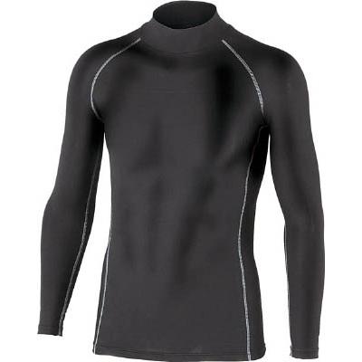 おたふく BTパワーストレッチハイネックシャツ ブラック LL JW170BKLL