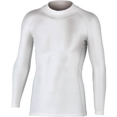 おたふく BTパワーストレッチハイネックシャツ ホワイト LL JW170WHLL