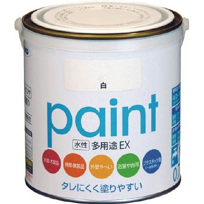 アサヒペン(Asahipen) 水性多用途EX 0.7L 白 459312