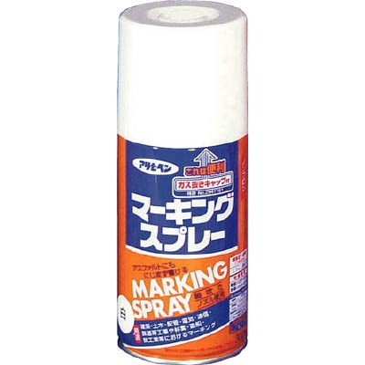 アサヒペン(Asahipen) マーキングスプレー300ml 白 559012