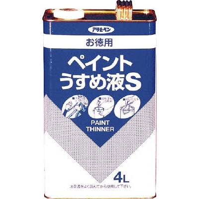アサヒペン(Asahipen) お徳用ペイントうすめ液S4L 571137