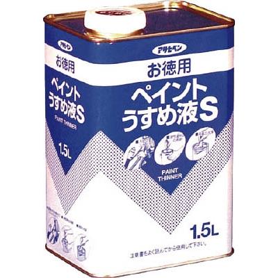 アサヒペン(Asahipen) お徳用ペイントうすめ液S1.5L 571144