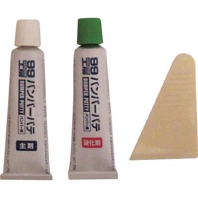 ソフト99(SOFT99) バンパーパテ ホワイト&ナチュラル 09011
