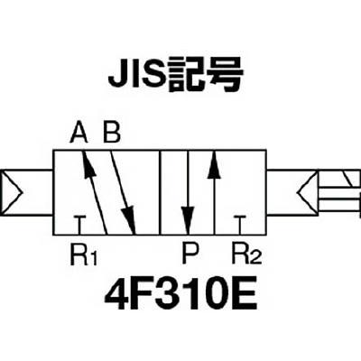 CKD パイロット式 防爆形5ポート弁 4Fシリーズ(シングルソレノイド) 4F310E-08-TP-AC100V