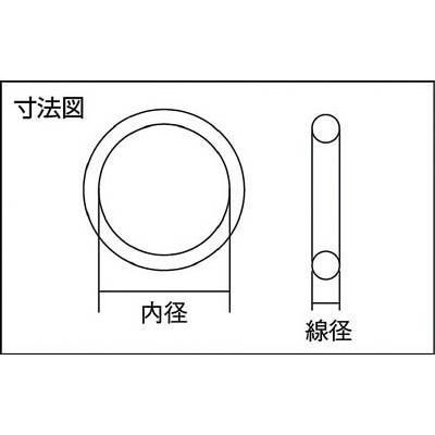 モリセイ Oリング(2個入り) 1A G−65 1A-G65