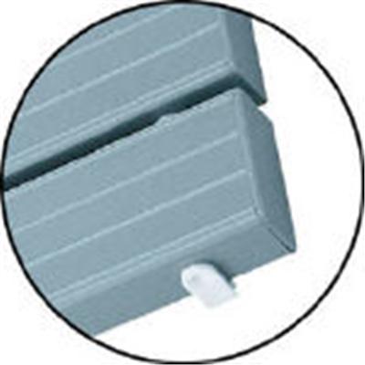 コンドル YSカラースノコセフティ抗菌B型(キャップ付)ブルー F-115-3-B-BL