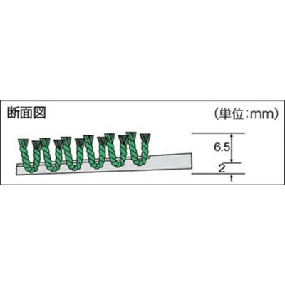 コンドル (吸水用マット)ECOマット吸水 #7 緑 F-166-7 GN