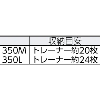 TENMA インロック300Mハーフ 390×550×300 INLOCK300MH